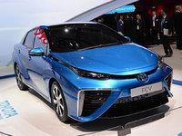 丰田FCV氢燃料车巴黎发布 续航达482km