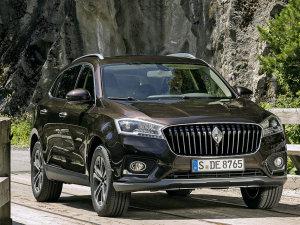宝沃首款SUV BX7官图发布 9月15日亮相