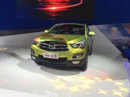 海马S5运动版成都车展上市 售8.98万起