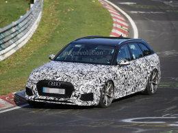 奥迪全新RS 4 Avant谍照 将于明年发布