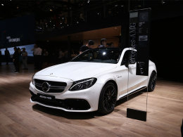 AMG C63 S COUPE静评