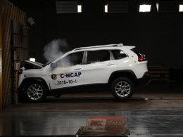 安全至上  2016年第二批C-NCAP碰撞解析