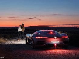 当浪漫遇到想象力 巴黎车展新科技鉴赏