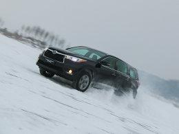 爱卡网上驾校(60)同汉兰达一起雪地撒欢