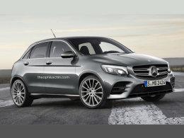 奔驰全新Z级假想图 终于推出小型车了?