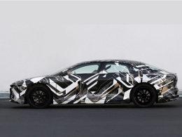 Lucid纯电动车量产版谍照 叫板Model S