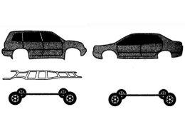 SUV小白解读 承载式车身是装什么用的