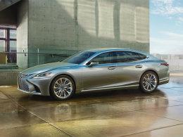 全球首发 北美车展全新雷克萨斯LS静评