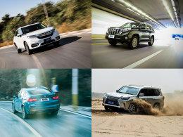 爱卡SUV专业测试 2016年度Top3车型盘点