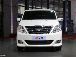 2017上海车展 野马首款MPV车型M70发布