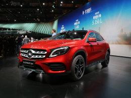 2017上海车展 奔驰新GLA 260静态评测