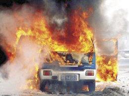 大风厂都意外起火了 你以为汽车不会吗