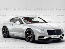 全新欧陆GT假想图 将法兰克福车展亮相