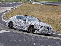 拖家带口刷圈速 奔驰AMG GT四门版谍照