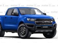 或2019年发布 福特Ranger Raptor假想图