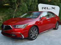 搭10AT变速箱 新款讴歌RLX实车正式亮相