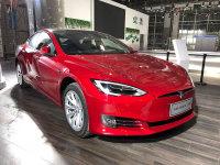 2017广州车展 MODEL S国标充电口版发布