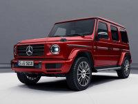 奔驰新一代G级特别版官图 采用红色涂装