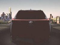 雷克萨斯UX预告图发布 日内瓦车展首发