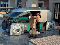 雷诺EZ-Pro概念车亮相 运输解决新方案