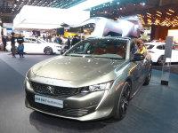 巴黎车展:标致全新一代508旅行版亮相