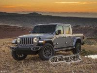 载人拉货两不误 曝Jeep Gladiator官图