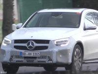 新奔驰GLC Coupe谍照 或日内瓦车展亮相