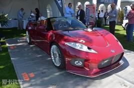世爵B6 Venator Spyder概念车 明年投产