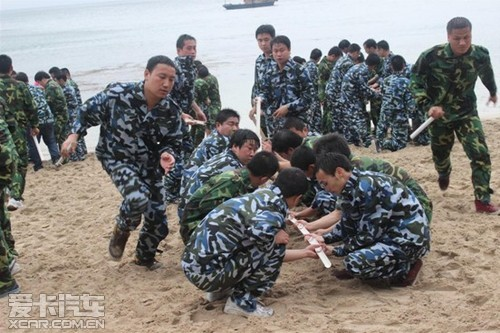 路畅科技海岛生存训练