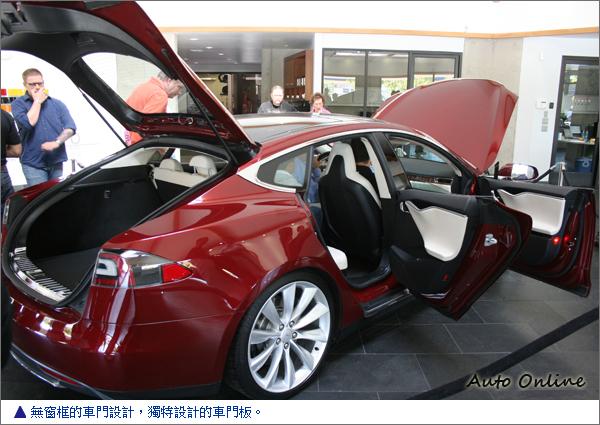 海外试驾TESLA Model S Beta版电动轿跑